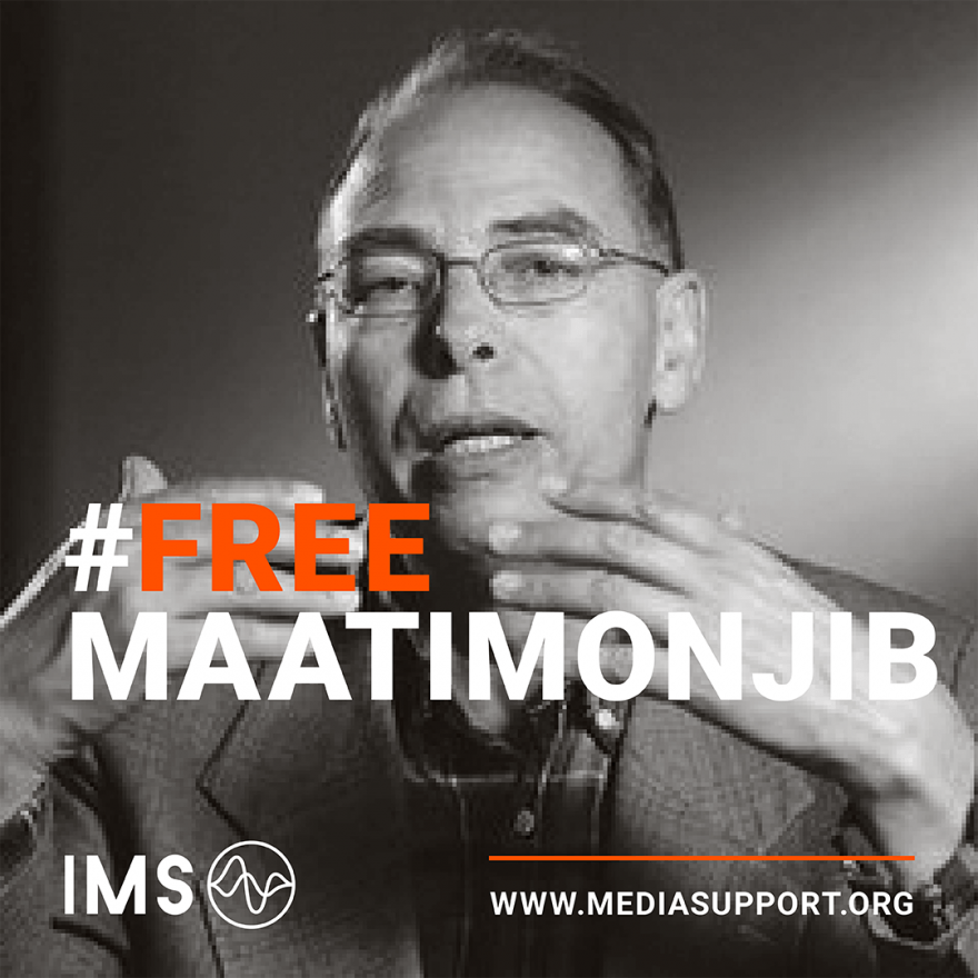 IMS calls for the release of Maâti Monjib